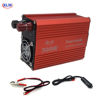 5V 2.1A USB 300W Watt DC 24V to AC 220V Portable Car Power Inverter Charger Converter Adapter DC 24 to AC 220 Modified Sine Wave