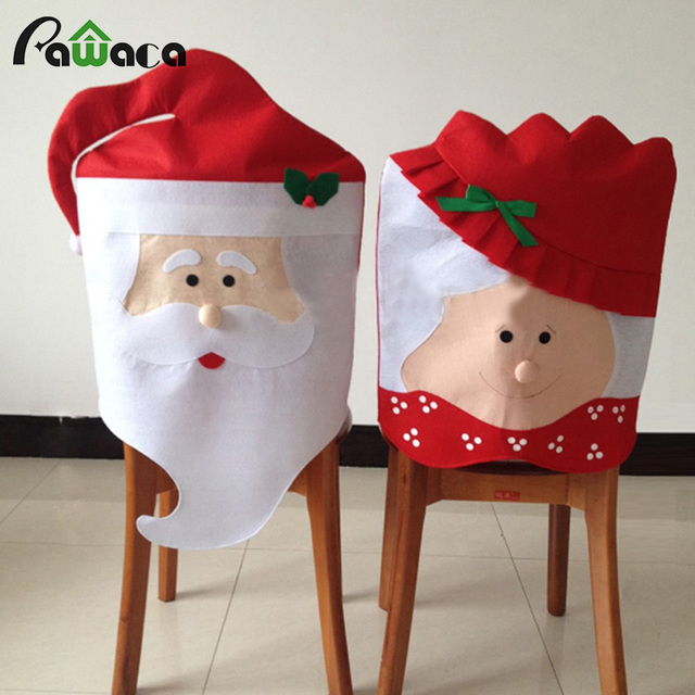 Chair Covers Diy For Hire In Pretoria Home Decoration Claus Christmas Grandma Cover Mr Mrs Dinner Festival Seat Decor Supplies