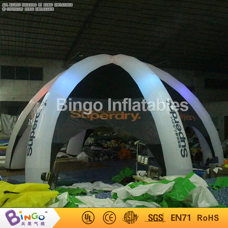 outdoor inflatable spider tent with led lighting for advertising/promotion/exhibition/events BG-A0700-6 toy tent - BAZARDUMAROC.COM & outdoor inflatable spider tent with led lighting for advertising ...