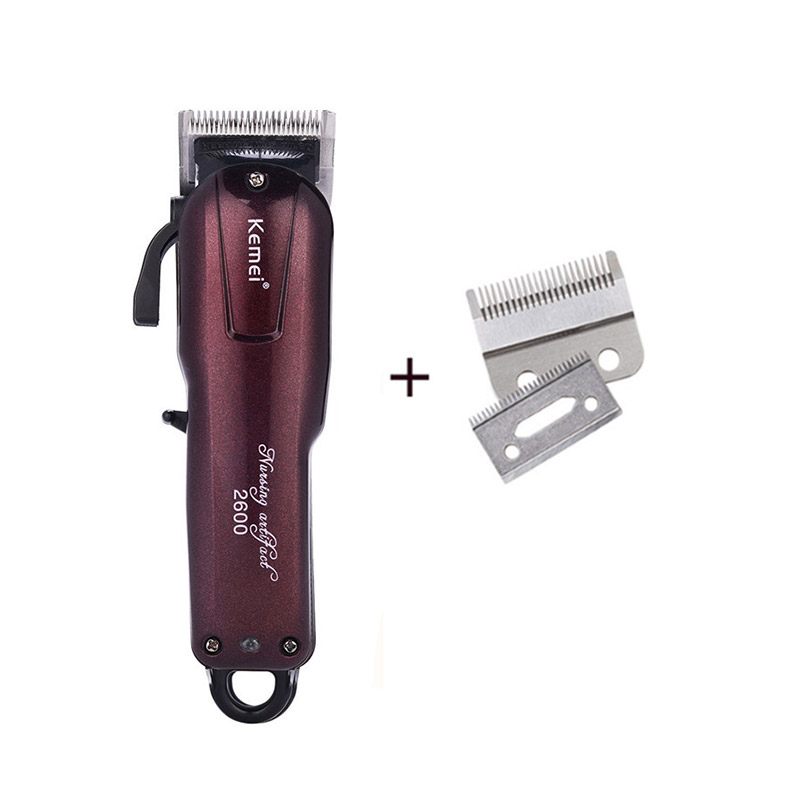 Kemei Electric Washable Hair Clipper Rechargeable Professional Hair
