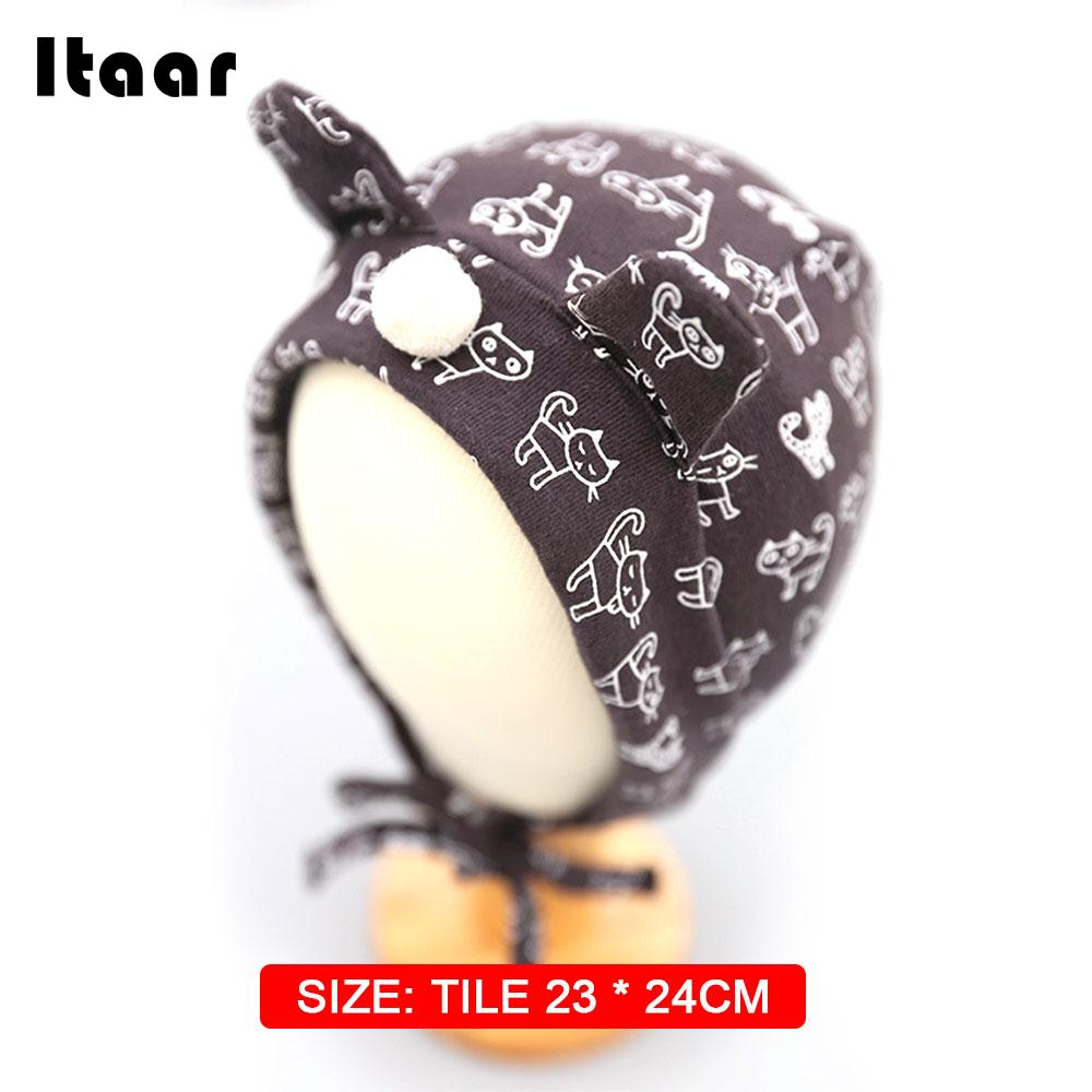 Newborn Infant Cap Outdoor Soft Newborn Baby Hat Infant Gifts Cotton Autumn and Winter Kids Beanies Hat