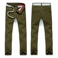 DEE MOONLY Hot Sale Design Men's Casual Pants high Quality Cotton Slim Men's Casual Business Pants navy Khaki Men's Casual Pants