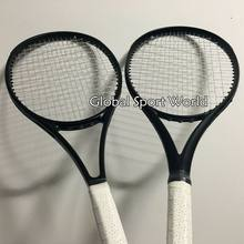 2016 NEW High quality customs Tennis Racquets 100% graphite 2015 tennis rackets Full black 41/4,43/8,41/2 Free shipping(China)