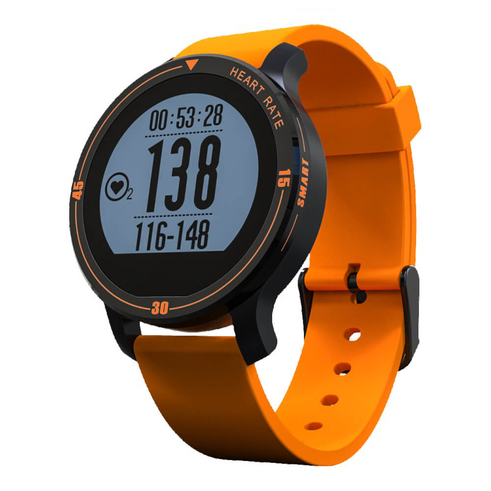 MAKIBES AEROBIC A1 SMART SPORTS WATCH BLUETOOTH DYNAMIC HEART RATE MONITOR SMARTWATCH S200 231407 0