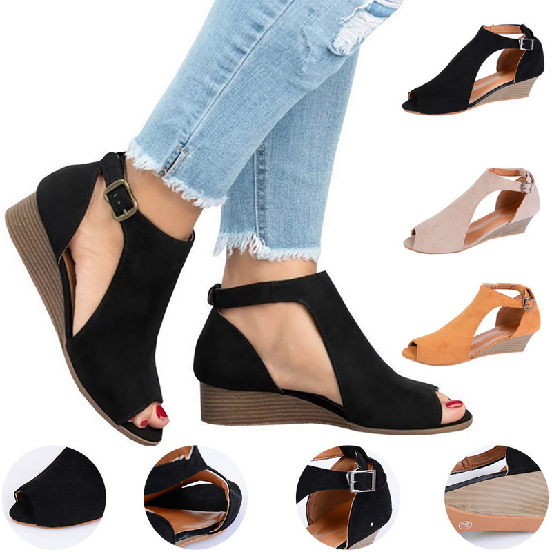 Vertvie 2019 Women Fashion  Sandals Comfortable Walking Sports Shoes Summer Beach Sandals Outdoor Sandals High Quality