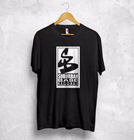 Suburban Base Records T Shirt Clubwear DJ Breakbeat Hardcore Rave Jungle High quality Brand Men T shirt Casual Short sleeve