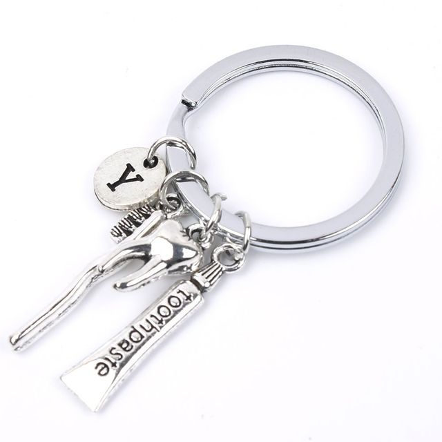 ISKYBOB  Dentist Keyring Dentist Dental Assistant Gift Bag Accessories Bag Parts & Accessories