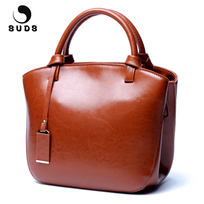 SUDS Brand Genuine Leather Women Handbag Designer High Quality Women Messenger Bag Female Vintage Cow Leather Small Shoulder Bag suds brand genuine leather 2018 fashion women small shoulder bag high quality cow leather women messenger bag crossbody flap bag