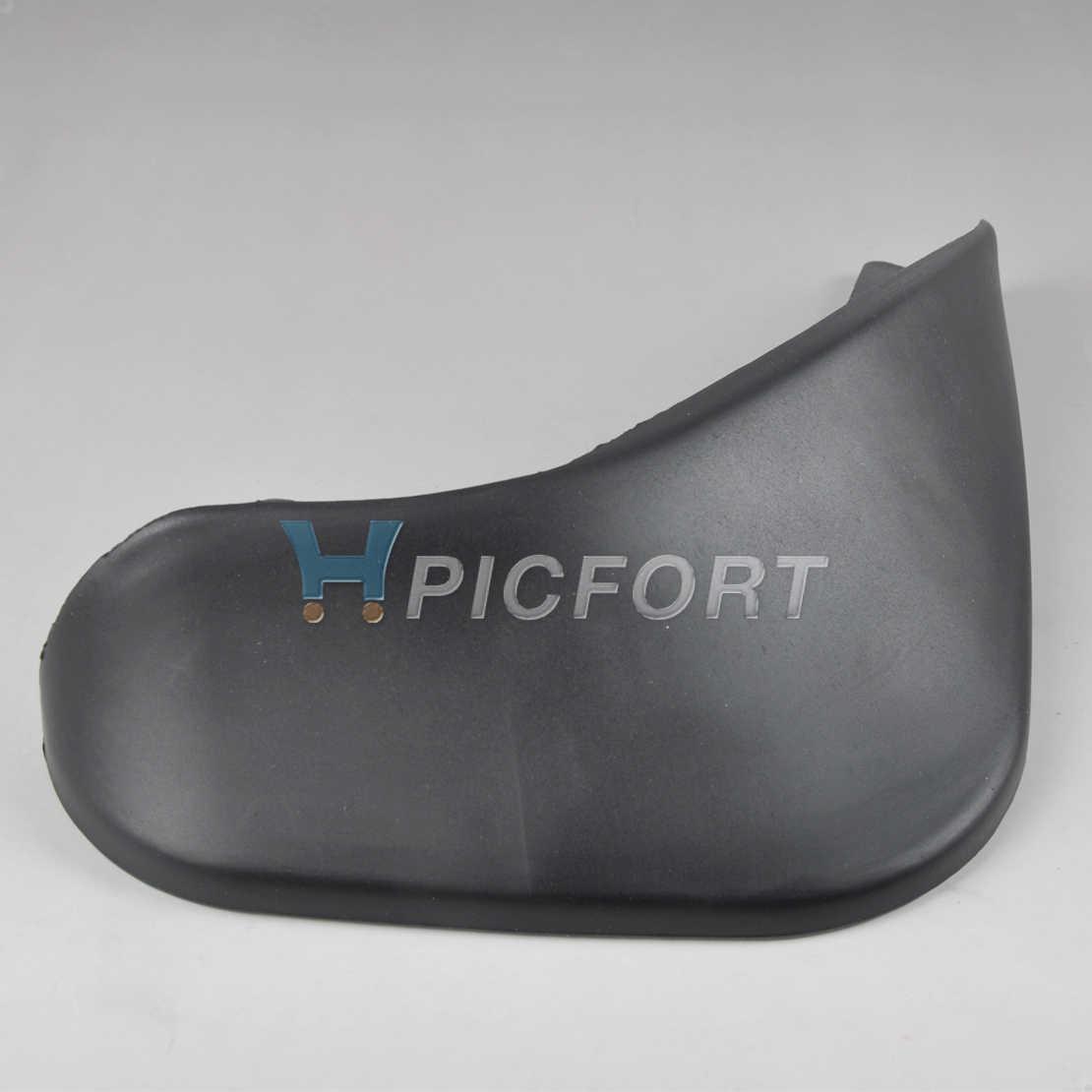 DWCX 4x araba siyah çamurluk çamur Flaps Splash muhafızları çamurluk çamurluklar çamurluklar Perfector Suzuki Swift 2011 için 2012 2013