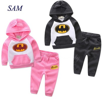 Children clothing sets Baby boys and girls Spring and Autumn Cartoon Cute Ear Sweater + Pants 2 pcs suit Toddler girl clothes
