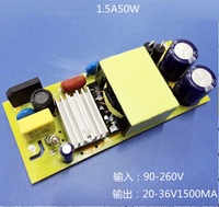 1500ma 10 5W 10 Serial 5 Parallel AC 85 265v High Power Driver For LED Lamp