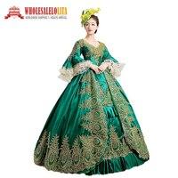 19d822a2d9fc6c 1860S Civil War Gothic Dress Victorian Dresses Renaissance Dress Vintage  Costumes Rococo Style Dress. Bekijk Aanbieding. Groene Marie Antoinette ...