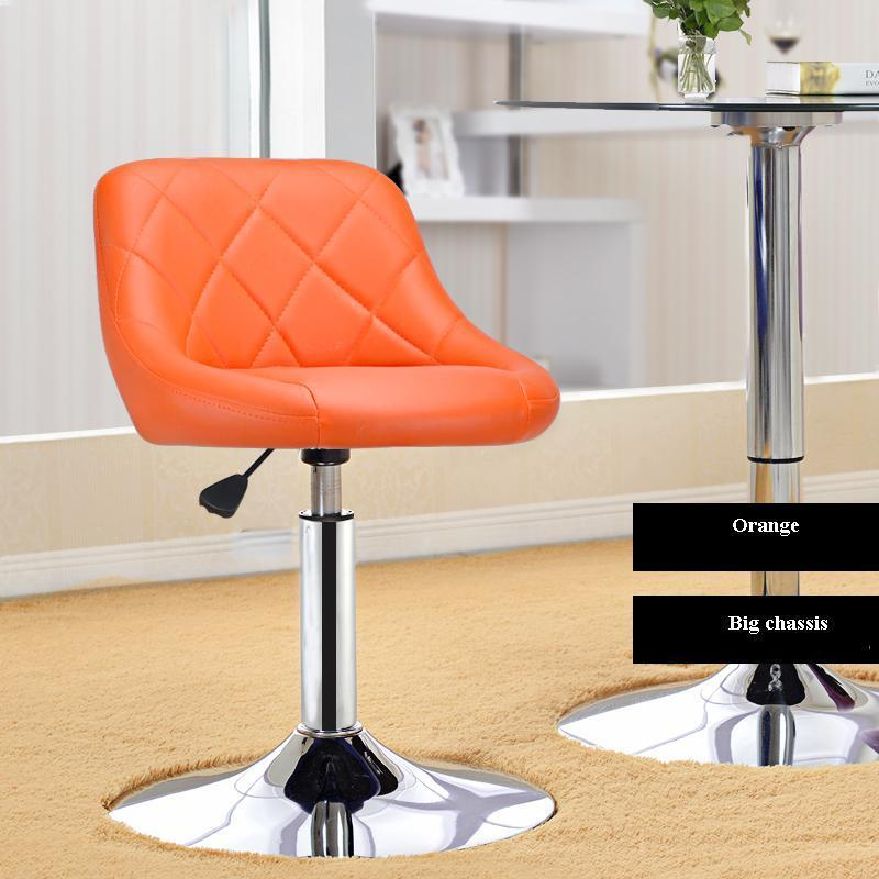 garden chair living room computer chair lifting black stool red color orange color for sellection