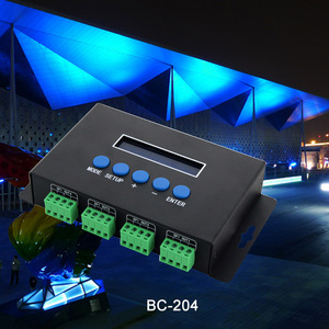Image 4 - Artnet Ethernet כדי SPI/DMX פיקסל led אור בקר BC 204 DC5V ~ 24V פלט הנוכחי 7Ax4CH; מפעל תוכנה עם V1/V2 גרסה