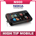 Original abierto de nokia n900 cuatribanda teléfonos celulares 3g slider n900 teléfono + gps + wifi + 5mp + 1 año garantía envío gratis reacondicionado