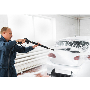 Image 5 - Roue 새로운 gs karcher 건 및 g1/4 나사 전송 용 고품질 압력 플라스틱 와셔 베 요넷 어댑터 2017 시간 제한