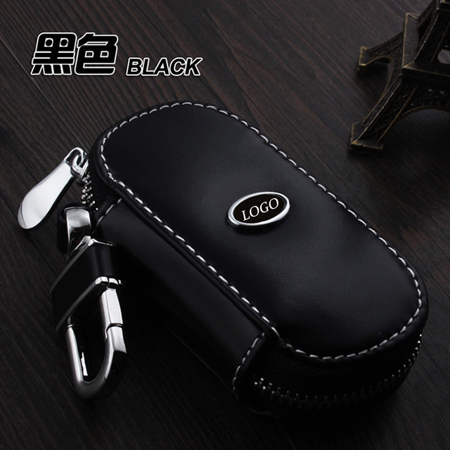 Leather Car Keychain Key Case Cover For Hyundai Mistra Ix35 Ix25