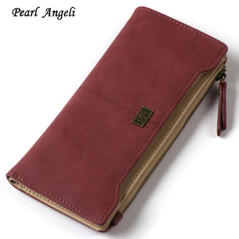Ladies Purses Fashion Women Wallets Leather Zipper Hasp Wallet Women's Long Design Purse Money Coin Card Holders Wallet Female brand new 2018 fashion women wallet tassel short wallets large capacity zipper hasp ladies bag purse money female credit card