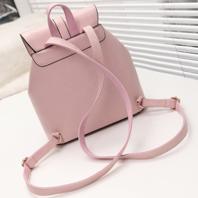 9e0ca1af085a casual leather women s backpack schoolbag female backpacks women preppy  style High quality rucksack sweet ladies knapsack S01243 Tags
