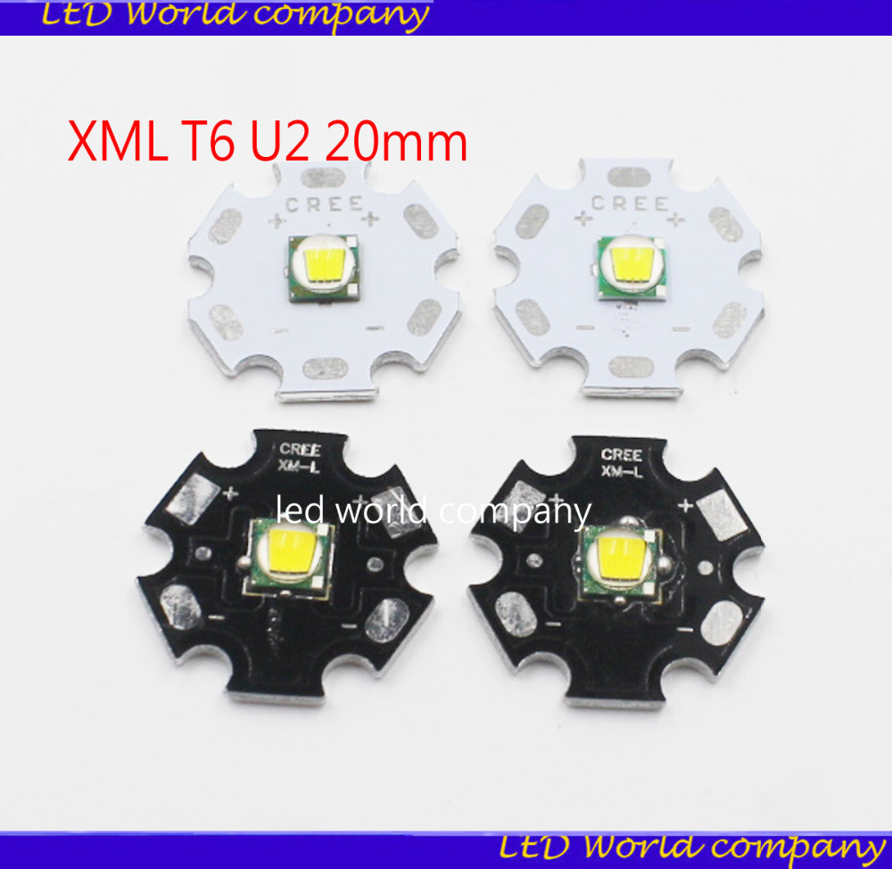 Home original cree xm l2 xml2 led emitter lamp light cold white - Aliexpress Com Buy 5pcs Cree Xml Xm L T6 Led T6 U2 10w White Warm White High Power Led Chip Emitter With 20mm Pcb For Diy From Reliable Cree Xml Suppliers
