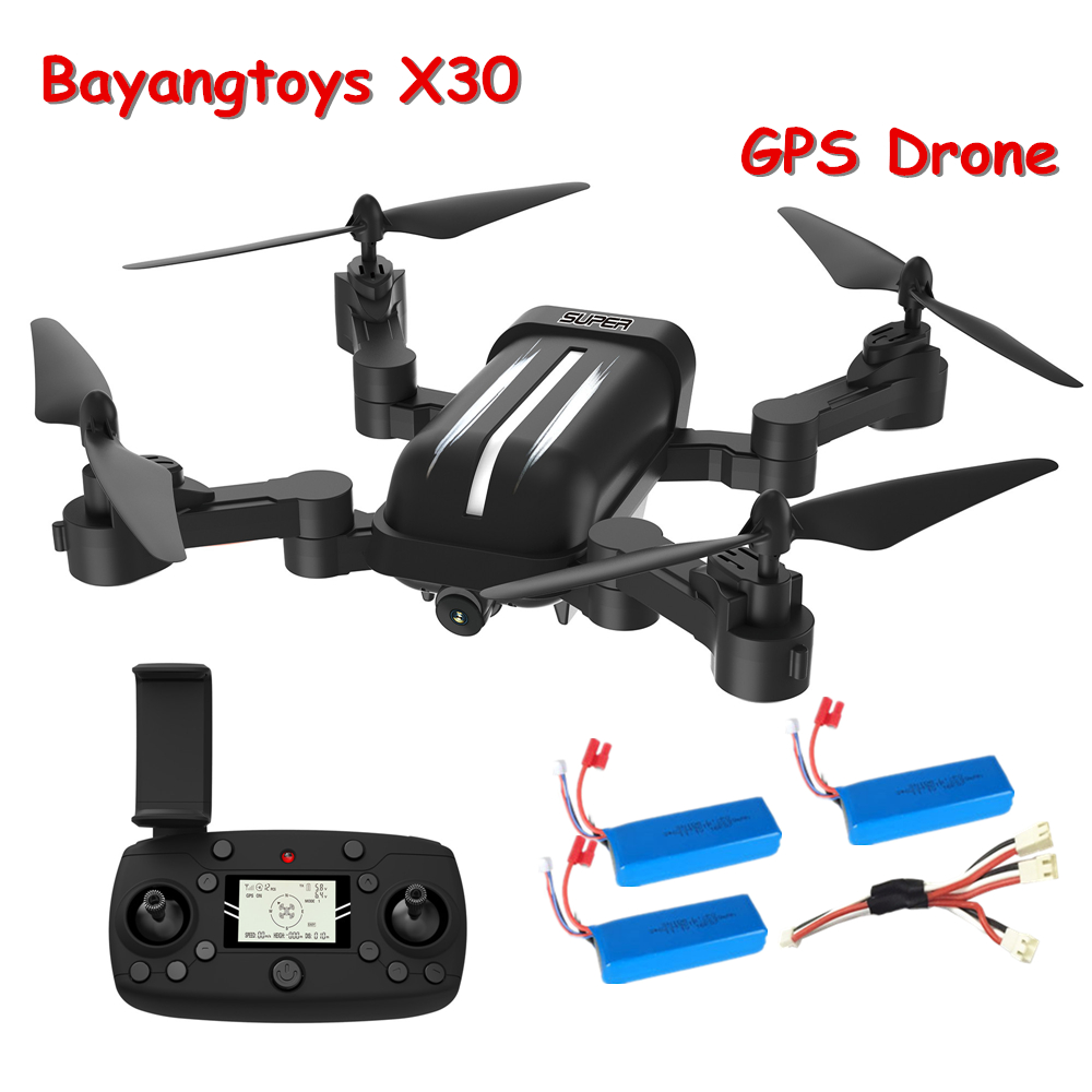 Bayangtoys X30 Quadrocopter GPS Drone with Camera 5MP RC Helicopter Drone GPS FPV Quadcopter with Camera Follow Me Mode vs XS812 Квадрокоптер