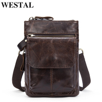 MARRANT Genuine Leather Bag Men Bags Men Messenger Bags Shoulder Crossbody Bag Small Flap Small Belt