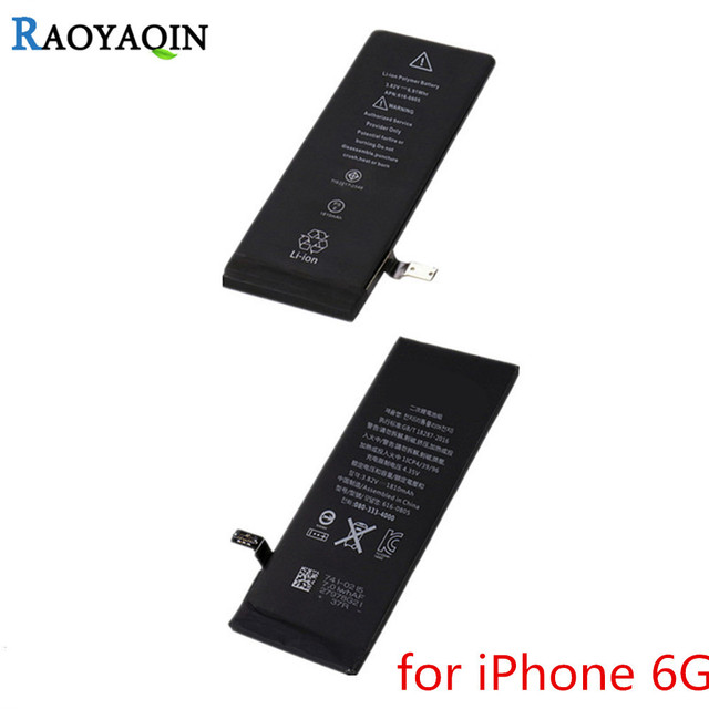 For Apple Iphone 6 Battery 1810mAh Real Capacity 100% Original For iPhone 6 Battery With Machine Tools Kit Mobile Batteries
