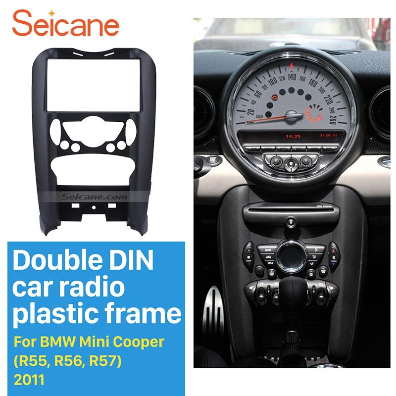 seicane 178 102mm car radio fascia for bmw mini cooper. Black Bedroom Furniture Sets. Home Design Ideas