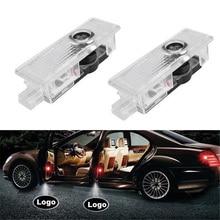 QCDIN 1 пара автомобиля светодиодный Добро пожаловать лампа для BMW светодиодный Добро пожаловать двери свет лазера украшения Тень проектор логотипа свет Быстрый Установка