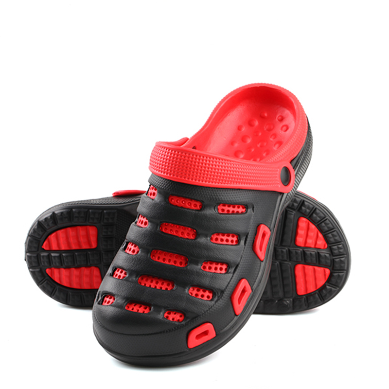 2018 Women Croc Shoes Summer Beach Shoes Outdoor Sandals Women Breathable Sandals Man Hole Shoes Outdoor Couple Shoes Garden