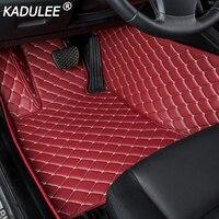 KADULEE car floor mat For toyota land cruiser prado toyota camry Highlander corolla RAV4 Previa Sienna prius auto floor mats