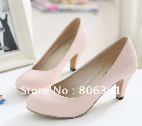 HOT SALE Low heel lady shoes, brief/ simple women fashion shoes ...