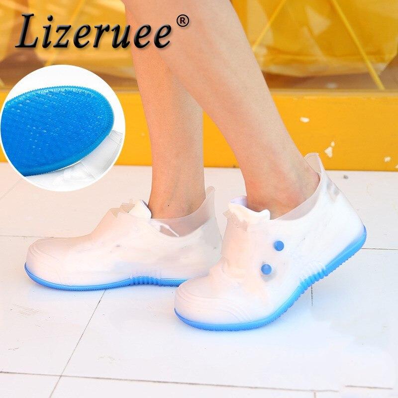Schuhzubehör Kenntnisreich Lizeruee Wasserdichte Schuhe Abdeckung Für Männer Frauen Nicht-slip Regen Stiefel Abdeckung Schuhe Elastische Wiederverwendbare Regen Stiefel Überschuhe Cs478 Ausgereifte Technologien Schuhüberzug