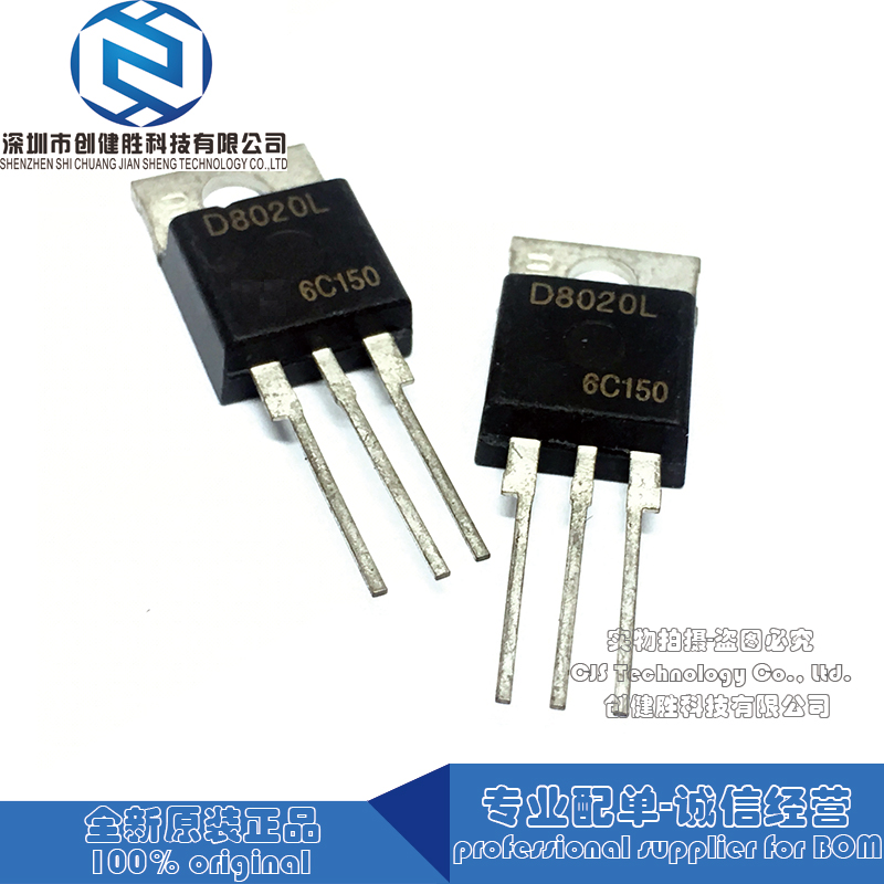 20A Diodo D8020L standard 800V