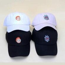 Pickle Rick and Morty Hats Rick Caps Adjustable Cotton Baseball hat Cap  Snapback Men Women Hat bd439b3095ad