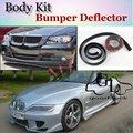 Бампер Губы Для BMW E36 Z3 E37/7 1995 ~ 2002/Car Lip магазин Спойлер Для Тюнинга Автомобилей/TOPGEAR Рекомендуем Тела Комплект + Полосы