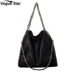 Lady Women handbags Crossbody Bags PU leather Shoulder Bag stella 3 silver chains Bolso Tote Fashion Sac A Main M42