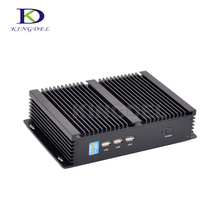 Industrial Mini PC Core i7 5550U i5 4200U i3 5005U 2*COM RS232 HDMI VGA 300M WIFI Fanless HTPC