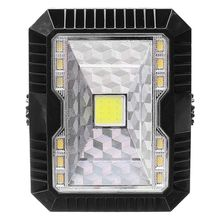 5W Outdoor Solar LED Flood Light Camping Lantern Camping Tent Lights Portable Flashlight USB Rechargable multifunction usb camping lights led flashlight outdoor portable lantern mini tent light emergency lamp pocket torch