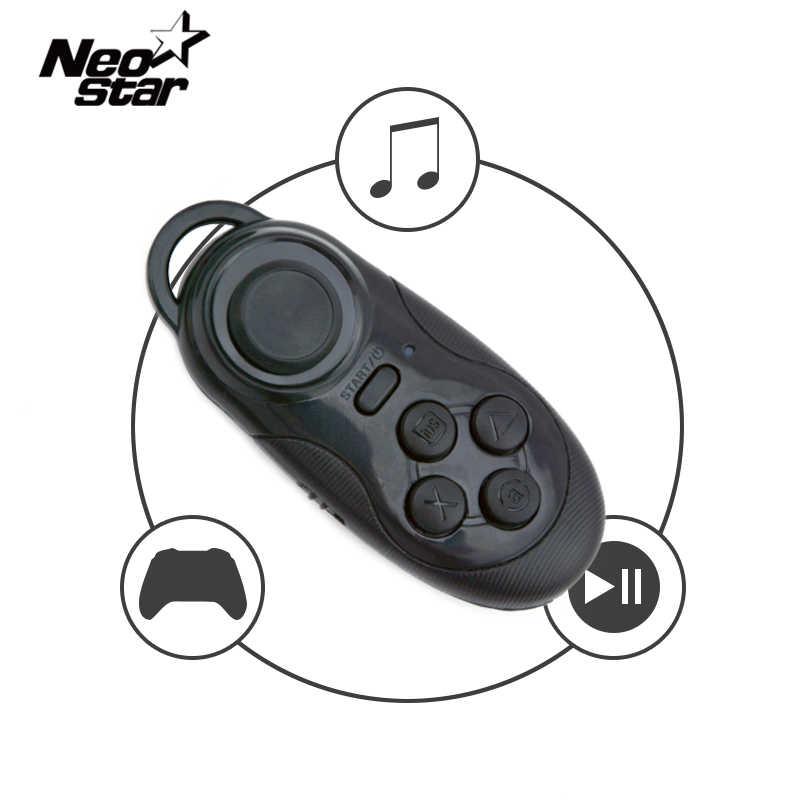Беспроводной Bluetooth пульт дистанционного управления геймпад контроллер мыши для Ipad samsung для Iphone Android/iOS планшетный телефон ПК затвор камеры для селфи