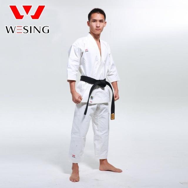 8c5358c0ab32a Wesing wkf karate kata üniforma tarafından onaylı kumite üniforma