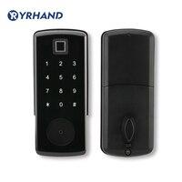 Электронный дверной замок, цифровой стерео Bluetooth APP замок без ключа, код на клавишной панели кодовый дверной замок