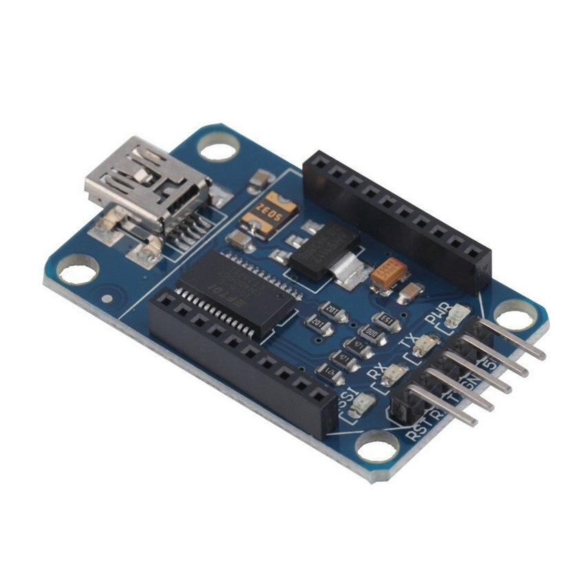 Mini Bluetooth Bee FT232RL USB vers Série Module Adaptateur USB à 232 Xbee Adaptateur Pour Arduino Pro Mini Downloader Bleu en gros