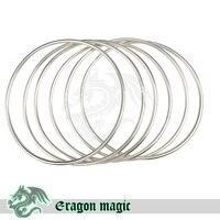 6 Anéis Ligados Pipe Estágio Truques de Mágica Frete Grátis Magia Magie Truque Brinquedo Profissional
