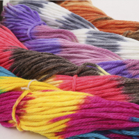 Hot Whole sale 1 balls/lot 250g mixed color soft scarf acrylic cotton yarn thick yarn cotton crochet thread