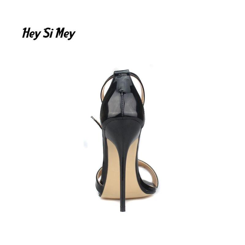 41 13 Zapatos Pompes Sandales Chaussures Femme Talons Plus Tacon Sandalias Mince 50 40 48 Mujer Qualité Haute Hsm Noir Cm 49 Stiletto Mariage De waqIPwx