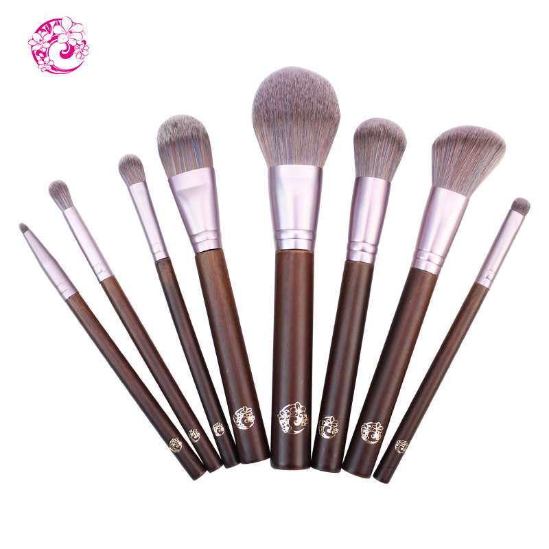 ENERGY Brand Professional 8pcs Makeup Wool Fiber Hair Brush Set Make Up Brushes Brochas Maquillaje Pinceaux Maquillage mg energy brand goat hair small eyeshadow brush makeup brushes make up brush brochas maquillaje pinceaux maquillage pincel bn106