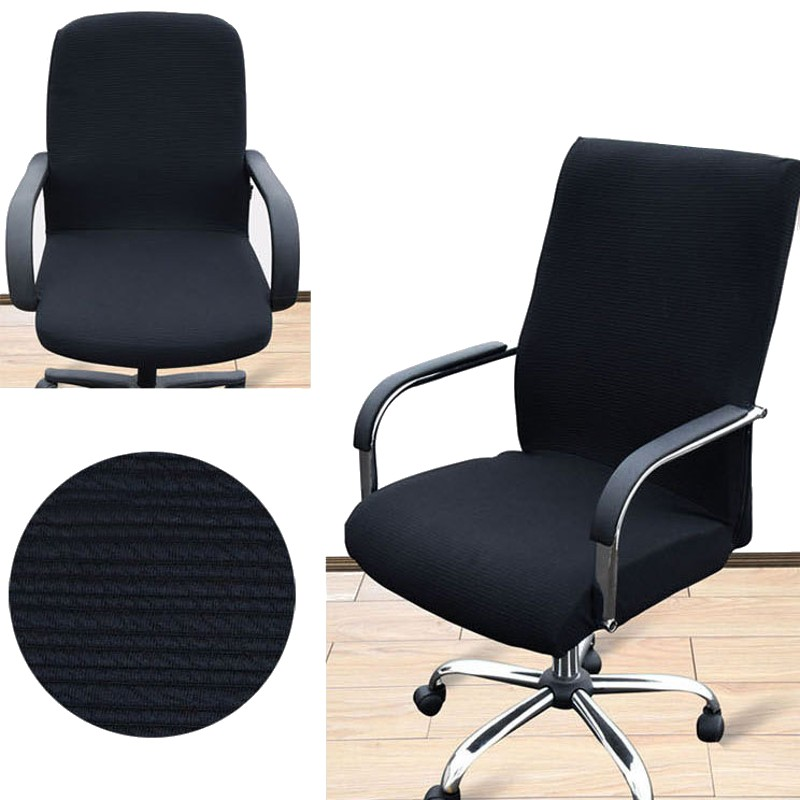 Arm Chair Cover Three Sizes Office Computer Chair Cover  : Arm Chair Cover Three Sizes Office Computer Chair Cover Side Zipper Design Recouvre Chaise Stretch Rotating from www.aliexpress.com size 800 x 800 jpeg 89kB
