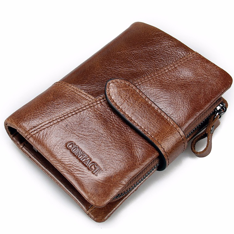 Senkey style Men Wallet Genuine Leather Wallet Luxury Dollar Price Vintage Male Purse Coin Bag Brand High Quality Small Designer men vintage wallet pu leather dollar