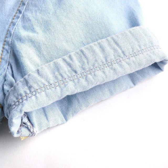 Casual Denima Natural Cotton Boy's Shirt